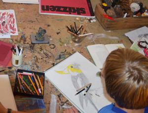 Kunstkurse für Kinder und Jugendliche in Leipzig mit der Künstlerin Susanne Meister