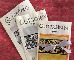 Gutschein für einen Malkurs in Leipzig bei Susanne Meister
