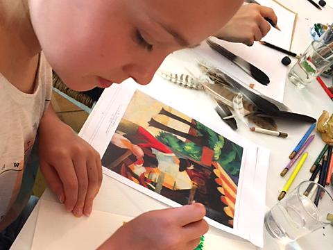 Ferienmalkurs und Kreativworkshop für Kinder und Jugendliche - Acrylmalerei